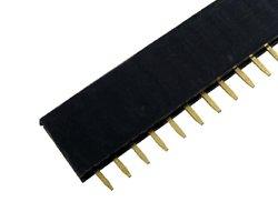 画像1: ピンソケット(2.54mm/単列)