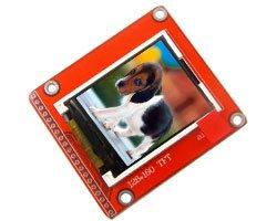 画像1: 1.8インチ液晶モジュール(SPI)