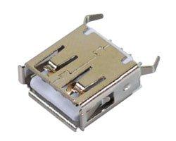 画像1: USBコネクタ(A/メス)
