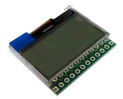 画像1: FSTN液晶モジュール(128x64/SPI)