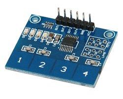 画像1: 静電容量式タッチモジュール(4ch)