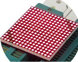 画像1: LEDドットマトリクス