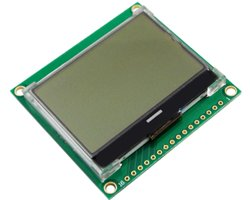 画像1: FSTN液晶モジュール(SPI)