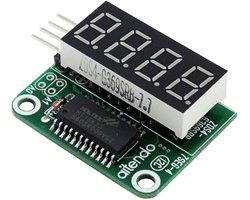 画像1: 7セグI2C表示器キット