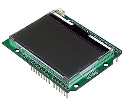 画像1: 大画面SPI液晶シールド