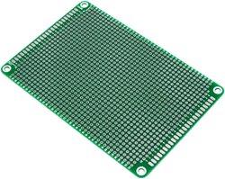 画像1: ユニバーサル基板(120X80)