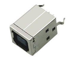 画像1: USBコネクタ(B/メス)