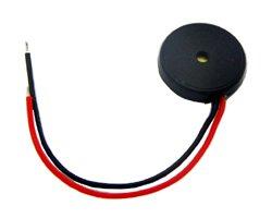 画像1: ★φ13×2.5★リード線付き圧電スピーカ