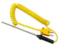 画像1: 棒型K熱電対センサ