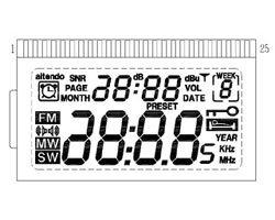画像2: DSPラジオ表示器