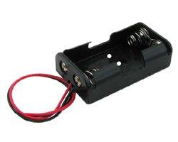 画像1: 電池ボックス(単3×2本)
