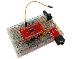 画像1: 速攻!DSPラジオonブレッドボード(V0)