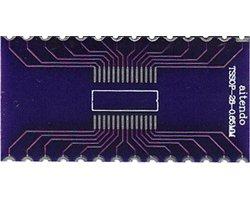 画像1: ピッチ変換基板(0.65/28P)