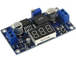 画像1: LED表示器付DC-DCモジュール