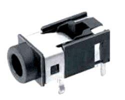 画像1: 小型ミニステレオジャック(3.5mmφ)