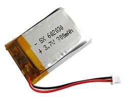 画像1: リチウムポリマー電池(3.7V/300mAh)