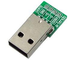 画像1: 基板 with USBコネクタ