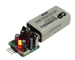 画像1: 9V電池降圧キット