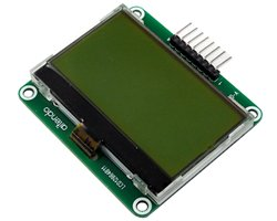 画像1: ★128x64★大型STN液晶モジュール(SPI)