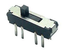 画像1: ★2回路3接点★スライドスイッチ(5個入)