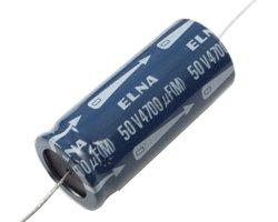 画像1: ★50V4700uF★チューブラ型電解コンデンサ