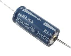 画像1: ★25V4700uF★チューブラ型電解コンデンサ