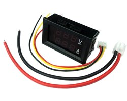 画像1: 電圧・電流パネルメーター