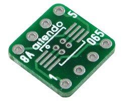 画像1: ピッチ変換基板(0.65/8P)(10枚入)