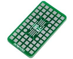 画像1: 表面実装ユニバーサル基板(MSOP-8)(3枚入)
