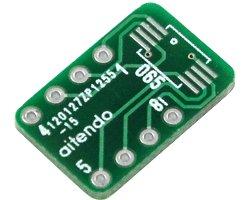 画像1: ピッチ変換基板(0.65/8P)(5枚入)