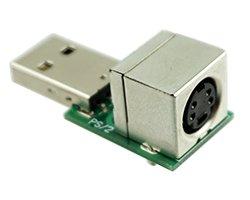 画像1: USB〜PS/2変換キット