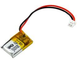 画像1: リチウムポリマー電池(3.7V/40mAh)