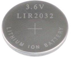 画像1: コイン形リチウム充電池(3.6V)