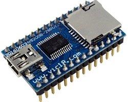 画像1: USB/シリアルmp3プレーヤーモジュール