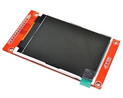 画像1: 2.8インチ液晶モジュール(SPI)