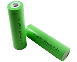 画像1: ★特売品★リチウムイオン充電式電池(2個入)