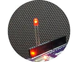 画像1: ★特売品★国産φ3赤色LED(20個入)