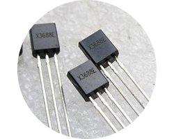 画像1: 電池LEDドライバ(4個入)