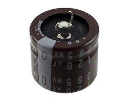 画像1: 国産電解コンデンサ(385V120uF)