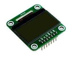 画像1: LCDモジュール(96x49/SPI)
