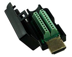 画像1: 半田付け不要なHDMIプラグ