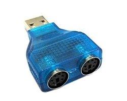 画像1: USB-PS/2変換プラグ
