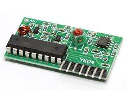 画像1: 受信モジュール(315MHz/4ch)