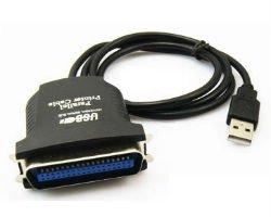 画像1: USB〜パラレル変換ケーブル