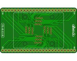 画像1: ソケットDIP化基板(0.5mm/TQFP-48)