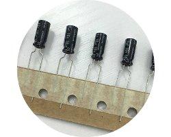 画像1: 国産電解コンデンサ(50V0.47uF)(10個入)