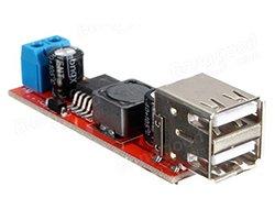 画像1: デュアル5V出力降圧モジュール