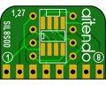 SIL変換基板(1.27/8P)(2枚入)