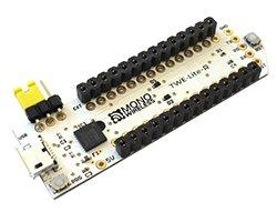 画像2: USBアダプタ(ソケット実装済み)