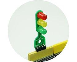 画像1: 信号機キット